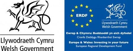 Wedi ei ariannu'n llawn gan Lywodraeth Cymru a Chronfa Datblygu Rhanbarthol Ewrop.