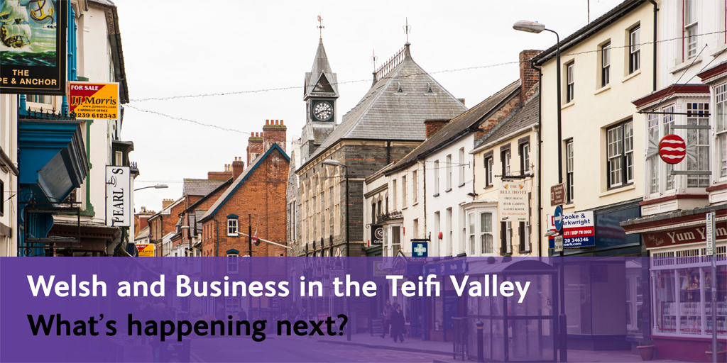 The Welsh and Business in the Teifi Valley What's happening next? Join us in the discussion.