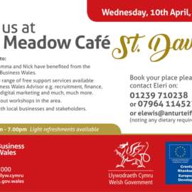 Join us at The Meadow cafe St.David's
