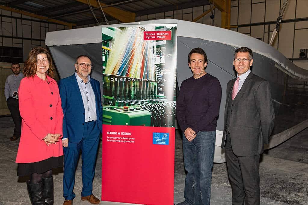 Williams Marine Business Wales and Antur Cymru case study