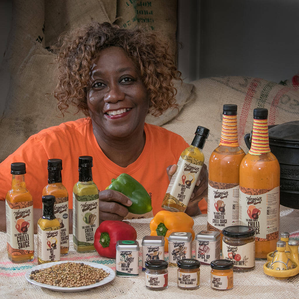 Maggies Exotic Foods business support
