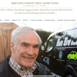 Brechfa Forest West Wind Farm Community Fund website.