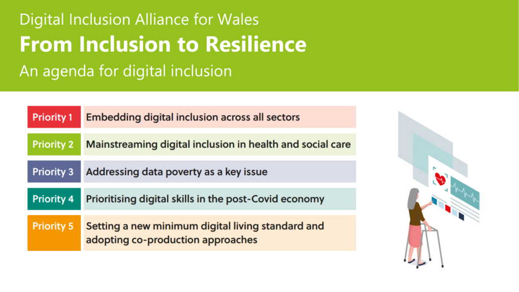 Antur Cymru Enterprise is supporting the Digital Alliance for Wales and its 'From Inclusion to Resilience' agenda, Click here to download the full paper that sets out the agenda and the need for collaboration.