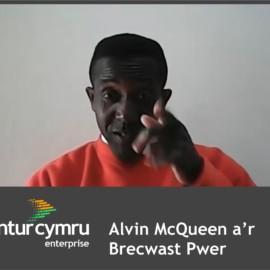 Alvin McQueen and his Power Breakfast